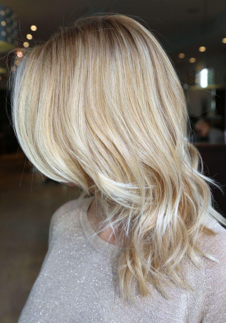Ashy blonde hair