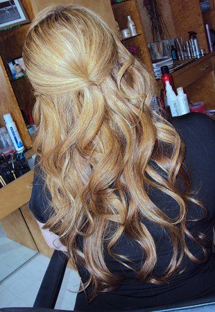 Beautiful, thick curls!