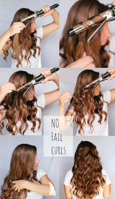 BEAUTY & THE BEARD: HAIR WEEK: NO FAIL CURLS This is the best hair curling tutor...