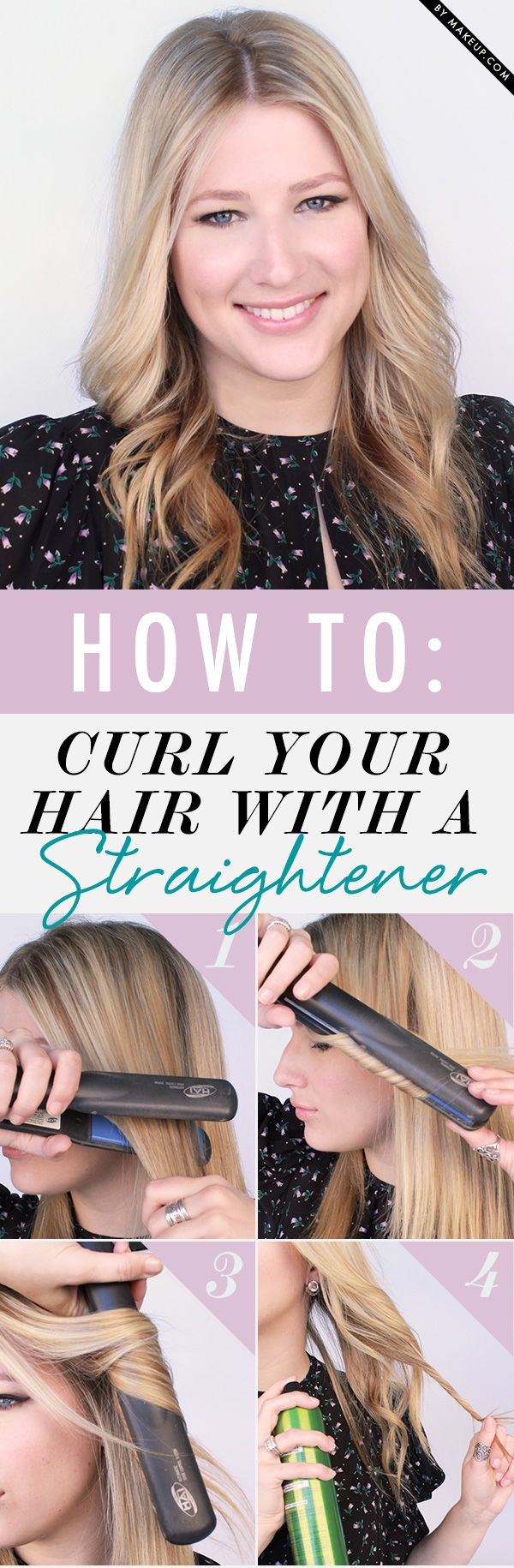 If you want to get beautiful curly hairstyles without using a curling iron, our ...