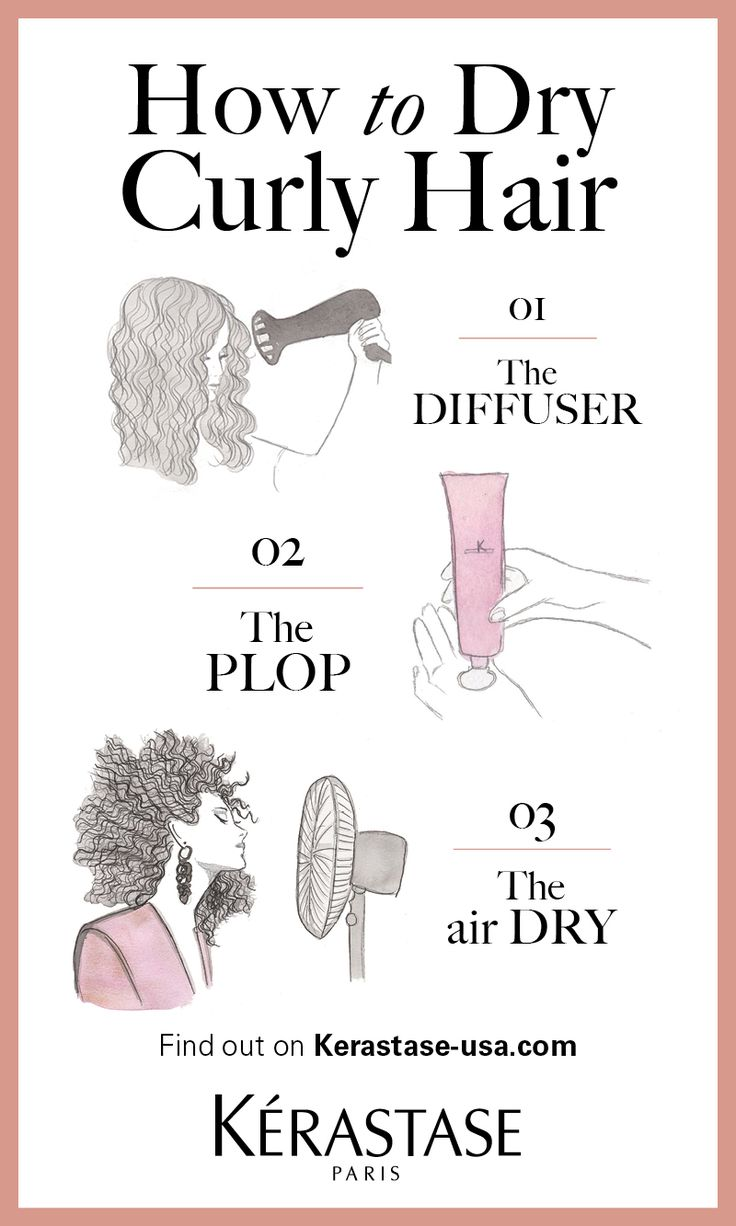 Discover the 3 must have tips to dry curly hair in the Kerastase Book of Curls. ...