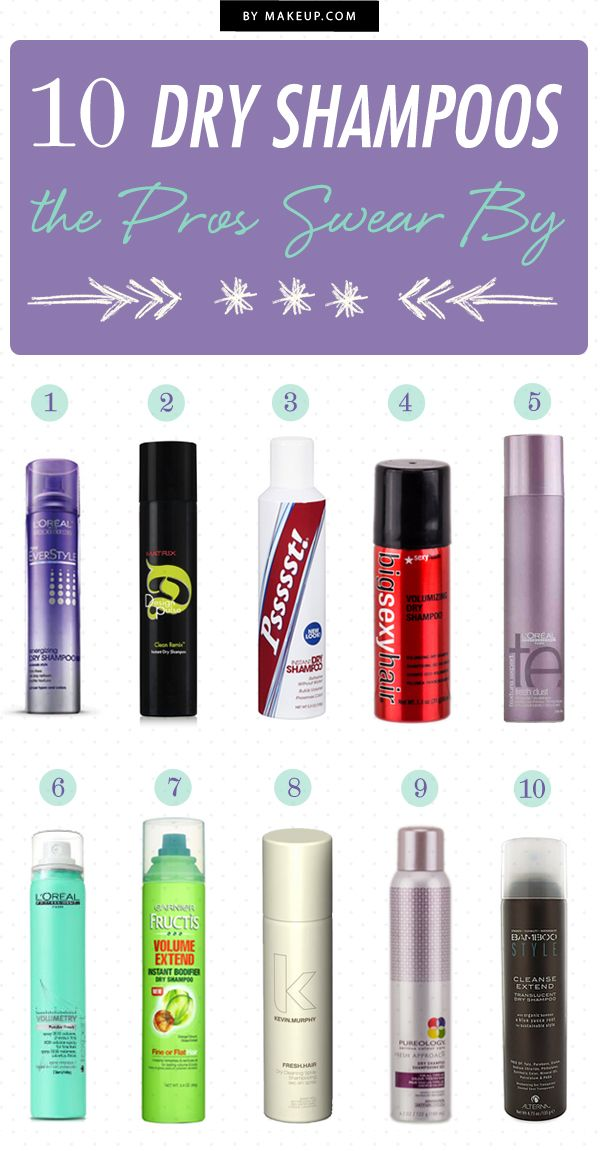 10 Dry Shampoos the Pros Swear By