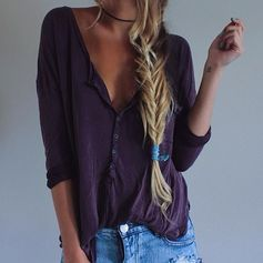 Fishtail braids is great for any day.