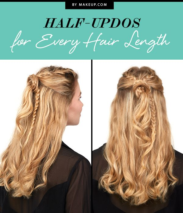 For those wishy-washy days, we suggest a great half-up hairstyle. Take a look at...