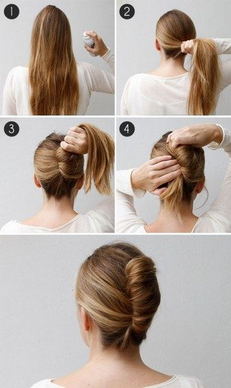 French twist 14 hairstyles that can be done in 3 minutes