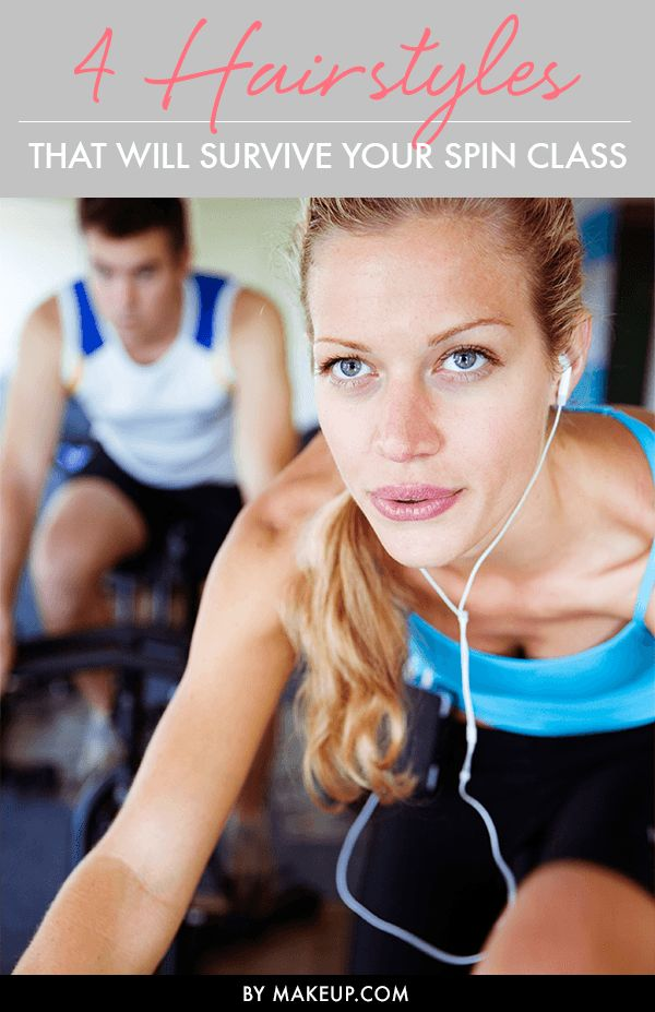 Having trouble keeping your hair in tact during that spin class? Next time you v...