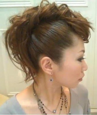 How to Create a Mohawk at www.ebeautyblog.c...