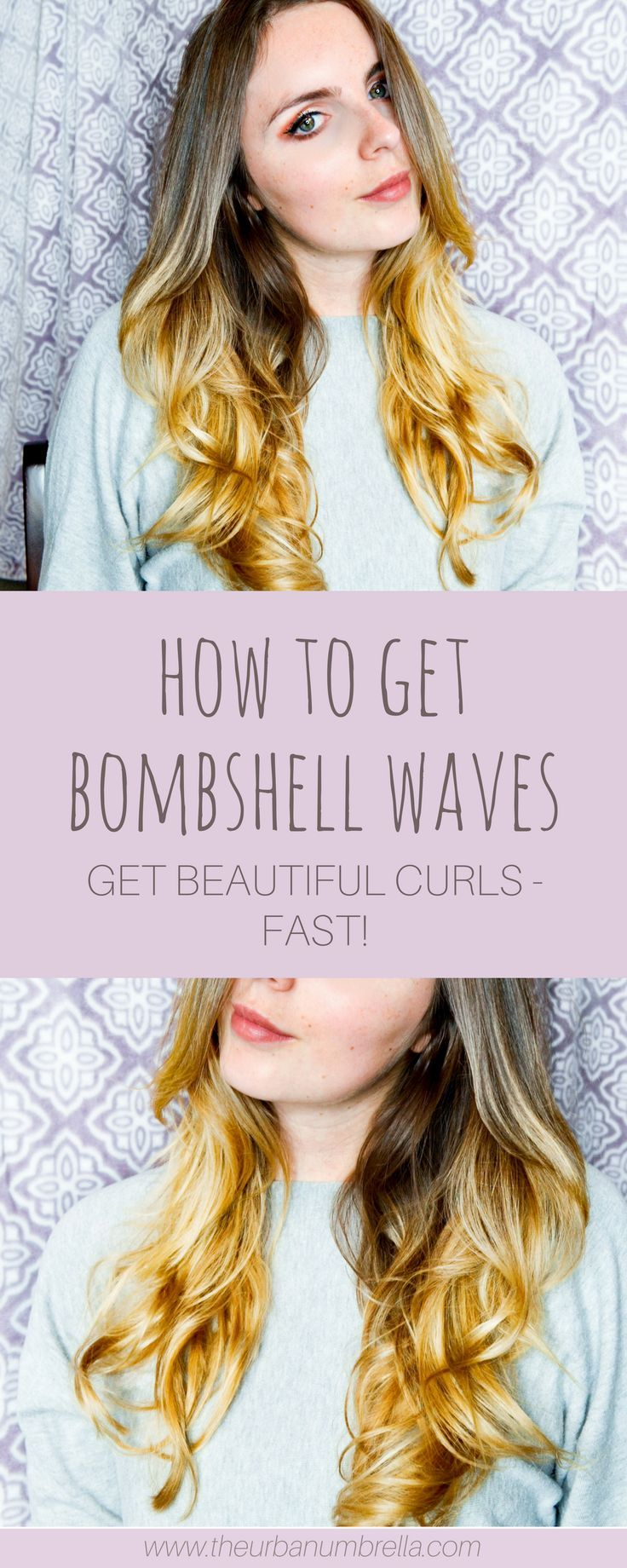 How to Get Bombshell Waves (Fast and Easy!)