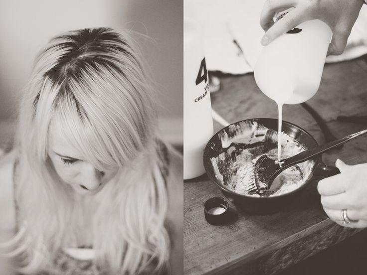 How to maintain platinum hair