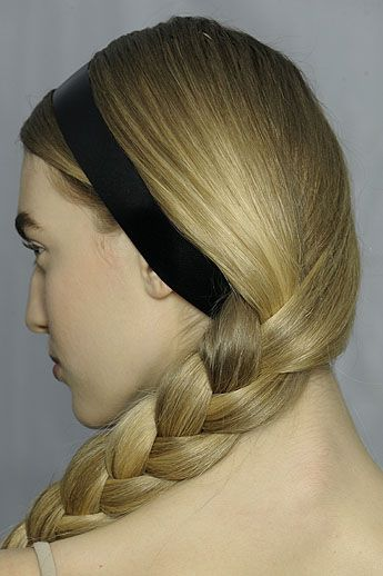 The side-swept braid is a classic look that's easy enough for any day-to-day...