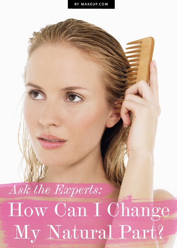 How Can I Change My Natural Hair Part // #beautytip