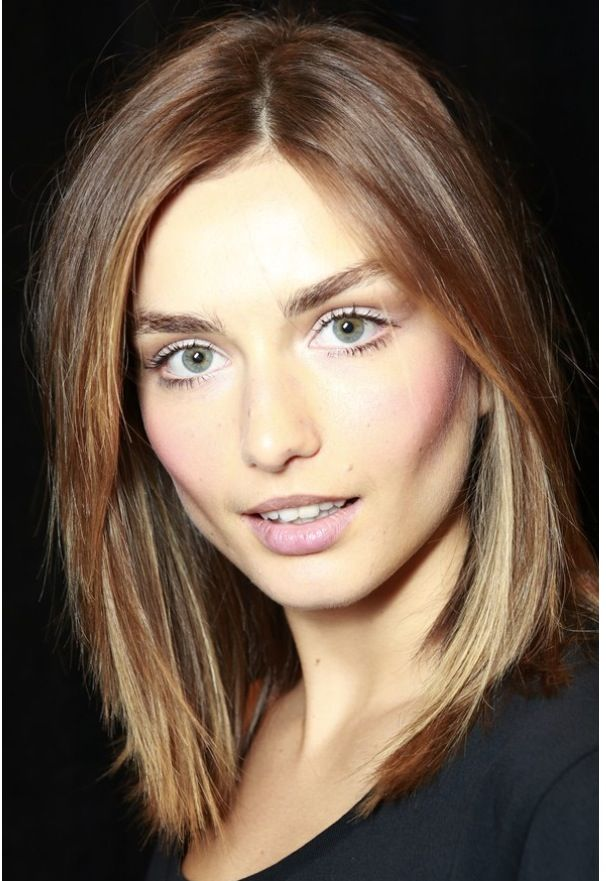 Light brown with layers