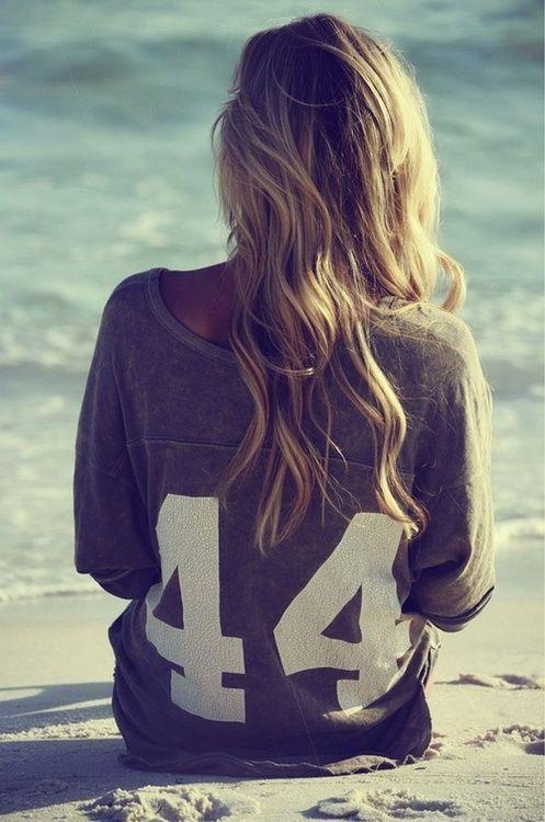 Long beach waves.