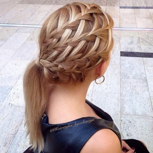 Love all these braids!