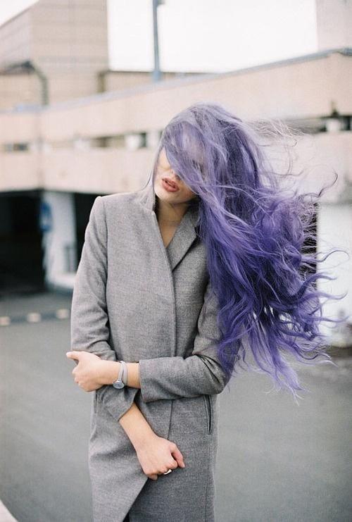Rich lavender hair