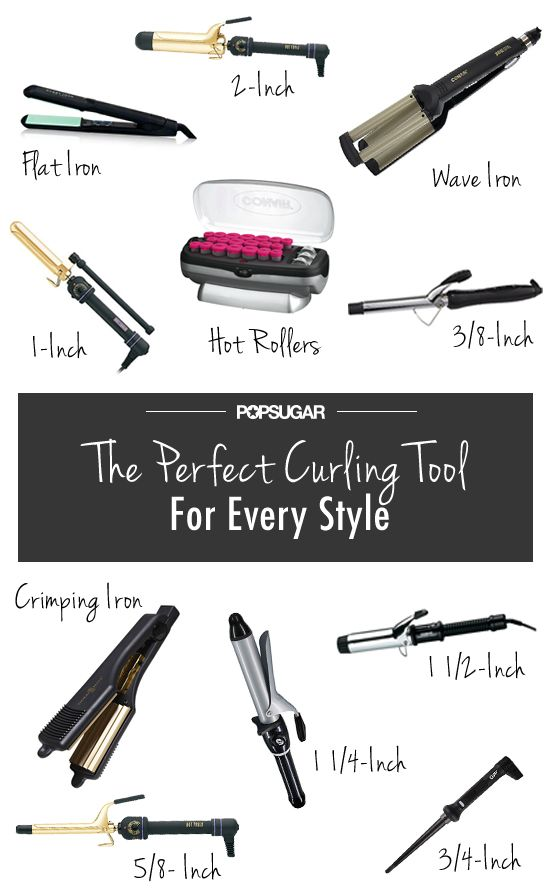 The perfect curling iron for whichever style you want! // #hair