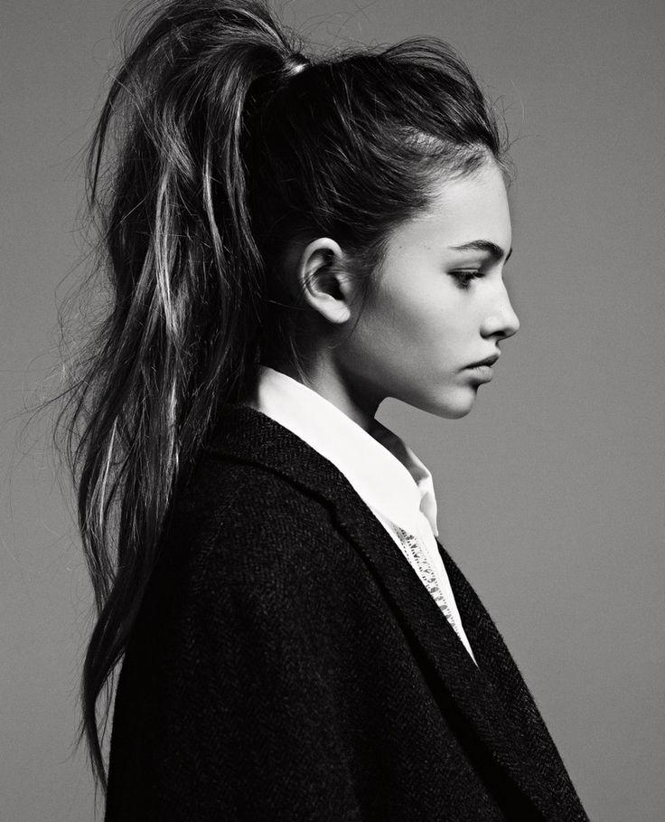 The perfect high pony