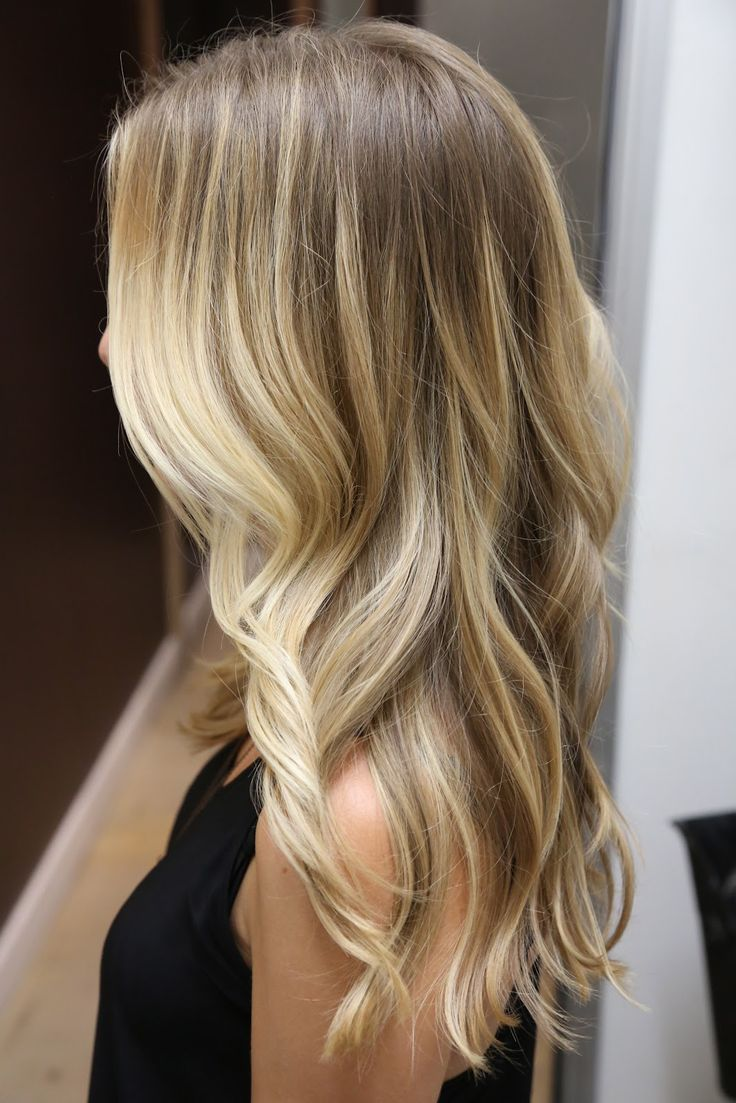 The prettiest blonde ombre!