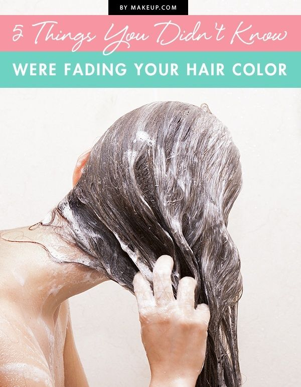 There's nothing like the disappointment of watching your hair color suddenly f...
