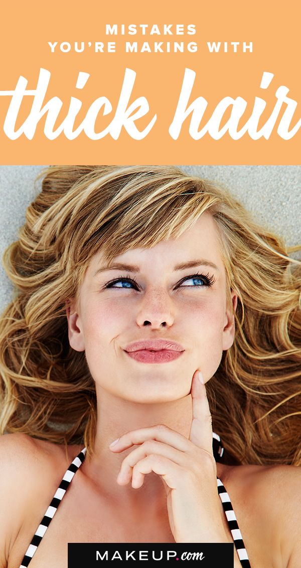 Thick hair is amazing, but to keep it healthy, you have to follow certain hairca...