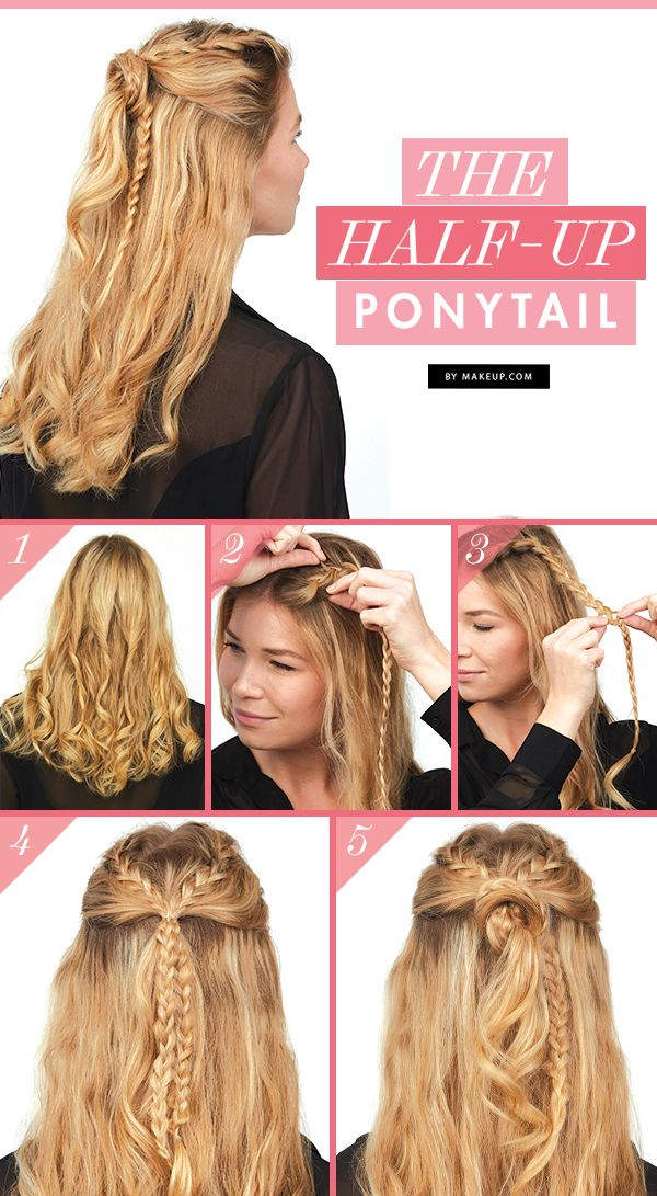 We're throwing it back to the half up ponytail, but this time we've put ...