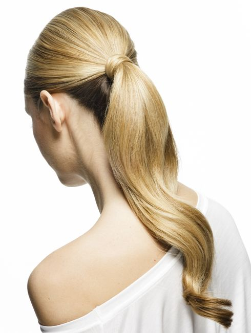 Up your ponytail game by trying out this voluminous pony tutorial. Anyone can ro...