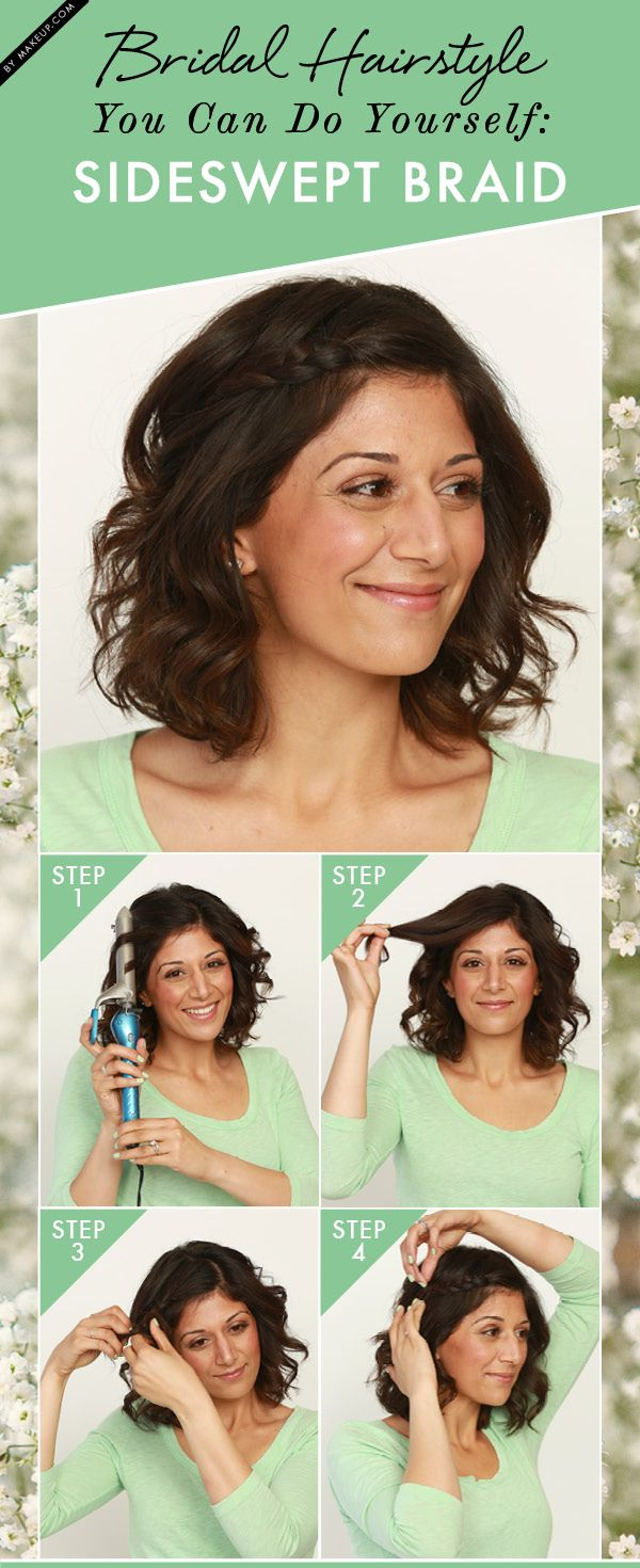 Want an easy step-by-step tutorial for a pretty DIY bridal hair look? Our guide ...