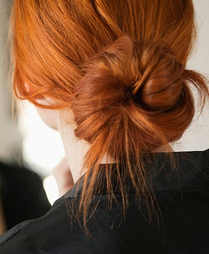 We all strive for the perfect, effortless looking messy bun, and here's how ...