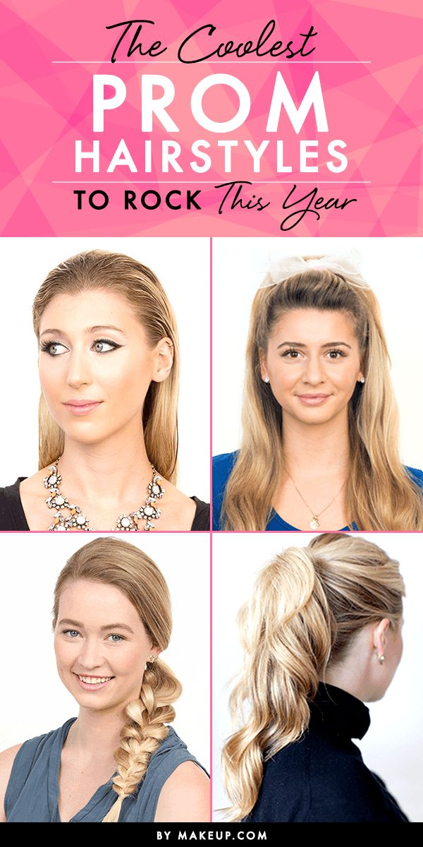 We've got full tutorials for the best prom hairstyles you should try, so if yo...
