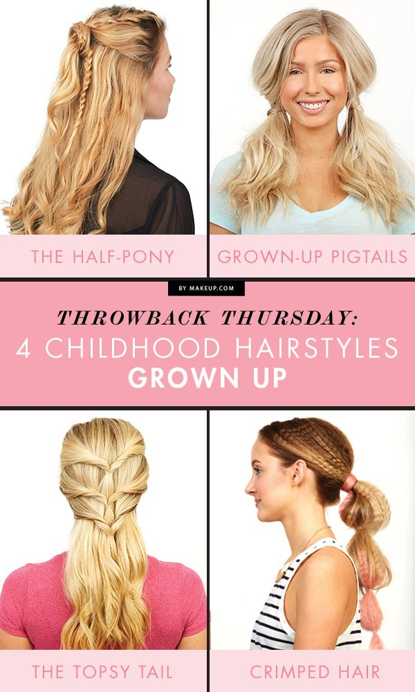 Throwback Thursday: Four Childhood Hairstyles Grown Up