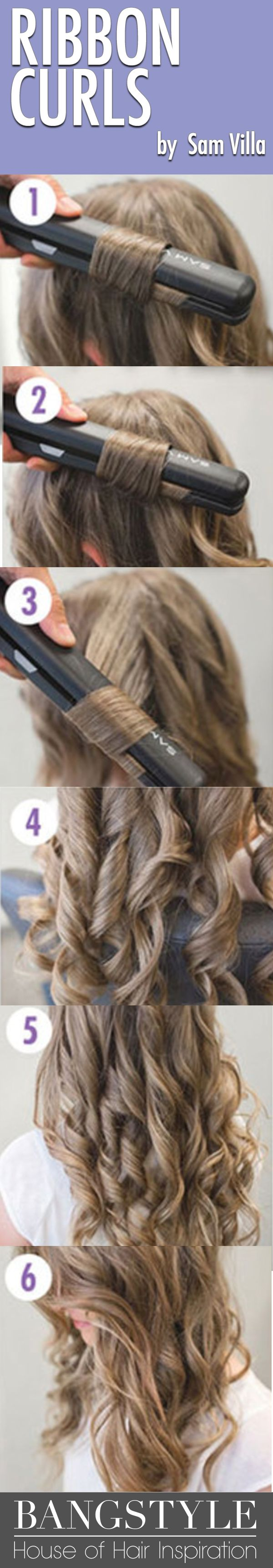 Will all of the hair tutorials out there that show you how to curl hair, we want...
