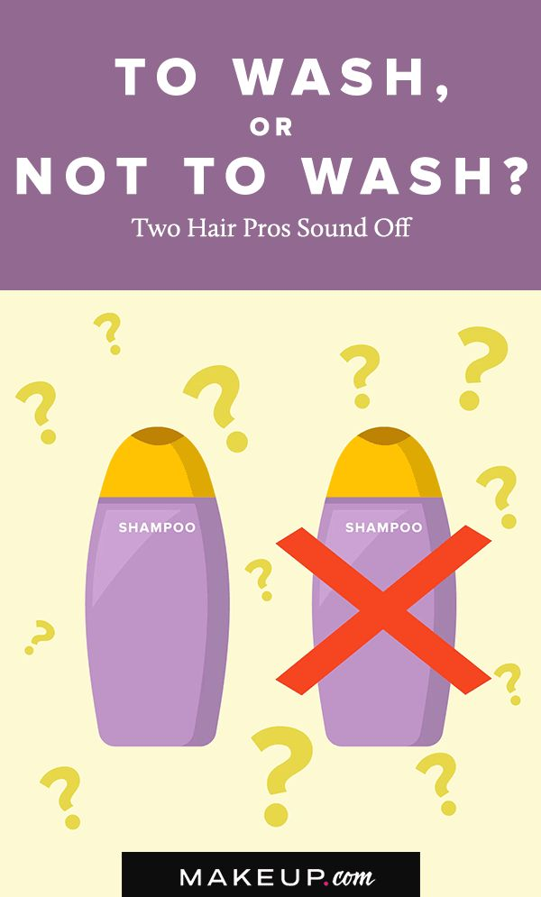 You may be conditioned to wash your hair on a regular basis, but how much should...