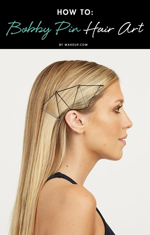 You'll never look at your bobby pins the same after this tutorial! Here'...