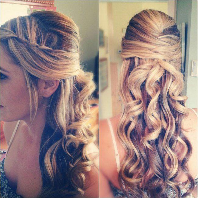 20 Long Wedding Hairstyles 2013 | Confetti Daydreams