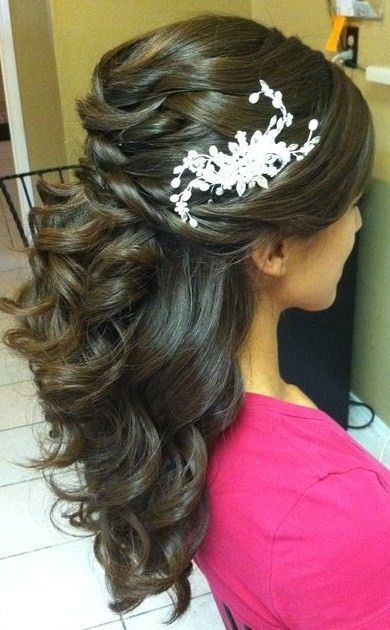 braid/curl mix