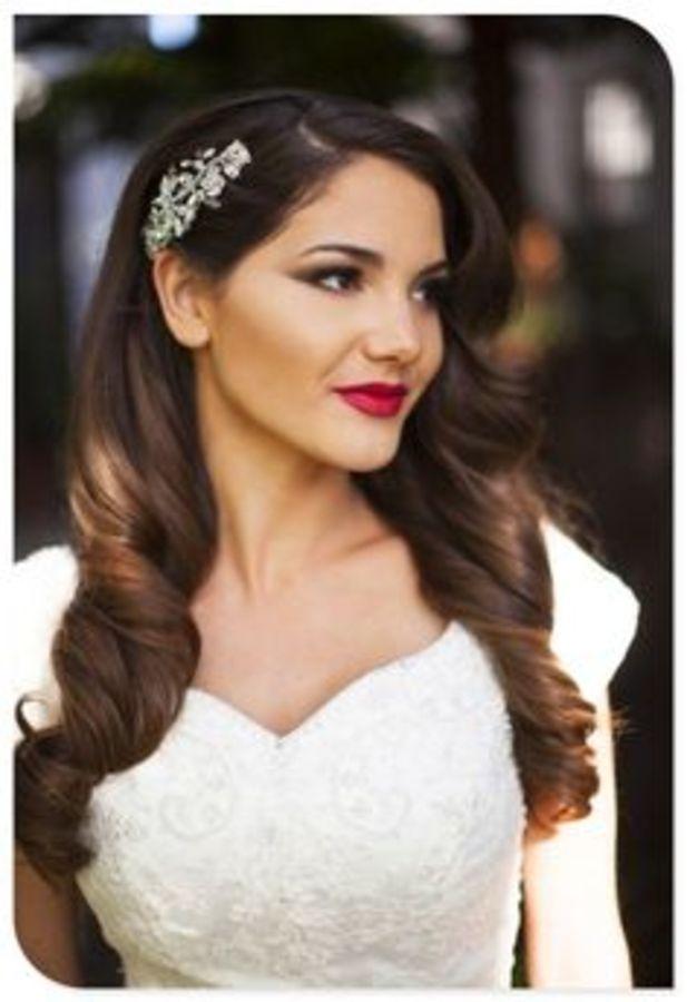 e895b77584e910d91876359af138601b 617x900 Down Wedding Hair Style wedding hair ma...