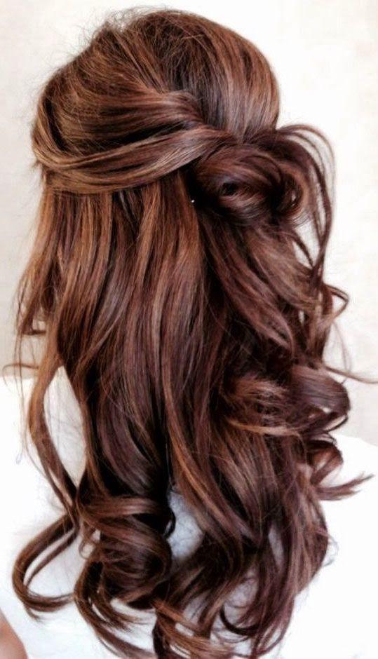 Wedding Hair Ideas: Half Up Half Down Hairstyles