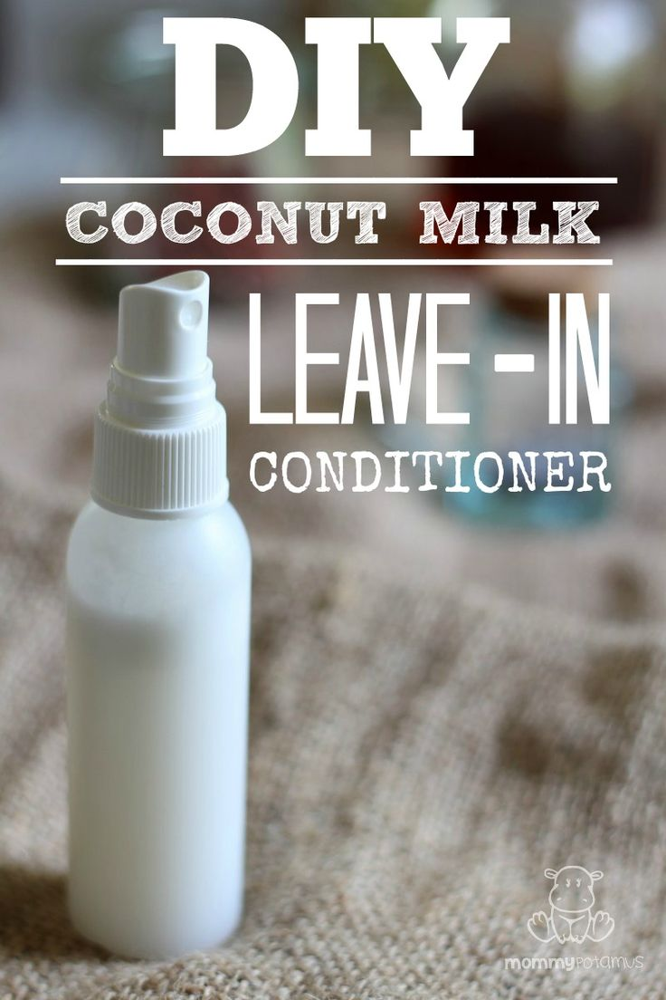 Coconut milk is magical!