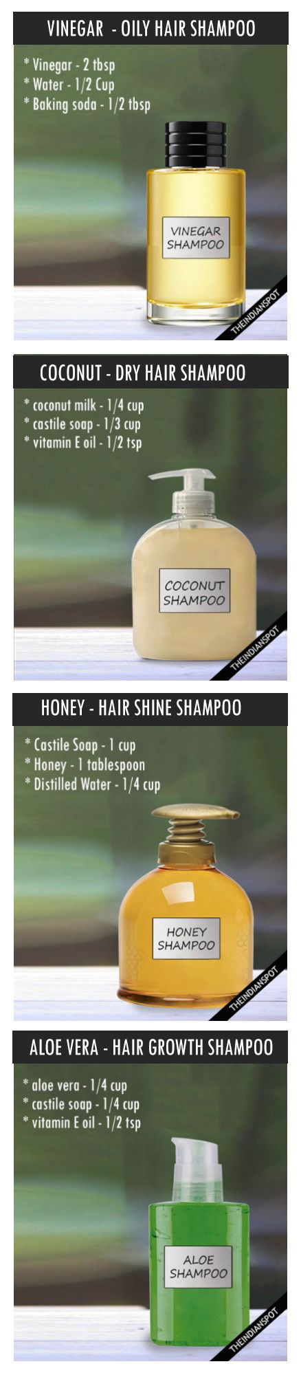 DIY ALL NATURAL SHAMPOO RECIPE FOR EVERY HAIR TYPE - Looking for Hair Extensions...