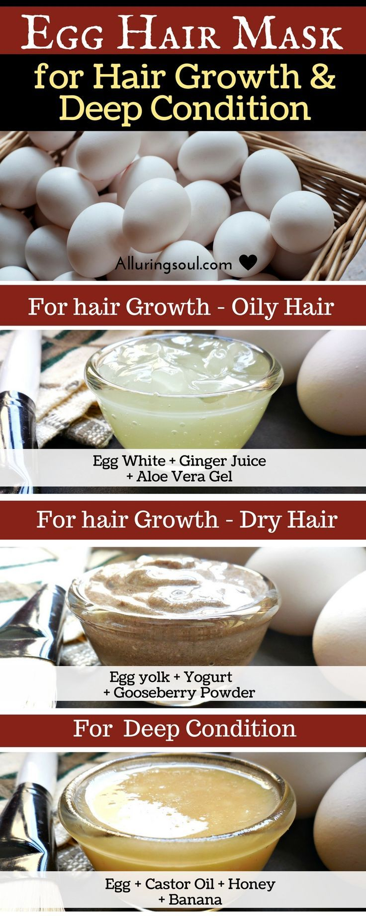 Natural Diy Hair Care Recipes Egg Mask For Hair Is An Effective Way