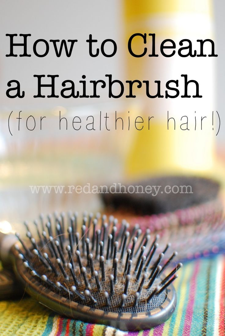 I had a total DUH moment when I realized that my dirty hairbrush was making my h...