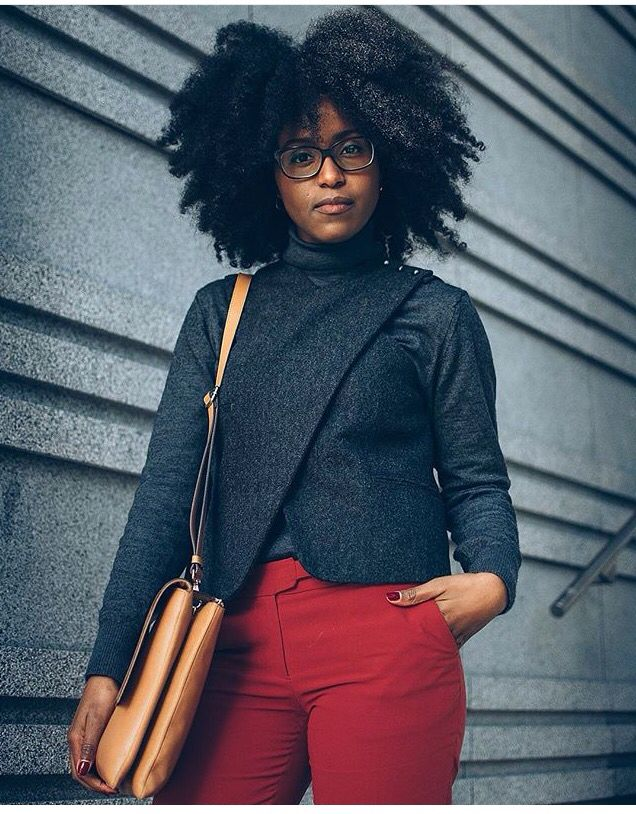 Nelly Muse || hair and fashion. Natural hair. Afro curls. Curly fro.