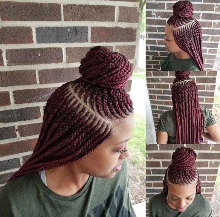 Nice braids @thebraid_slayher - blackhairinformat...