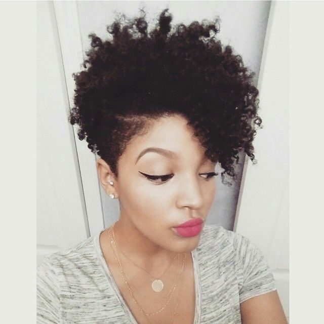The #taperedCut #NaturalHairstyle inspo via @missalexandrianicole #naturalhair