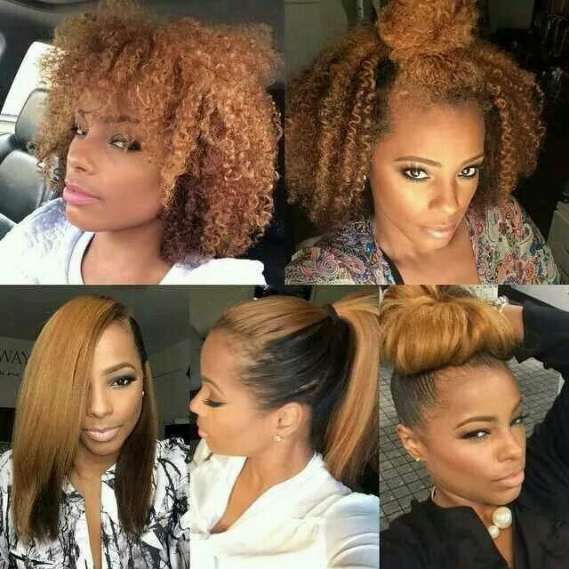 The versatility of natural hair is amazing!