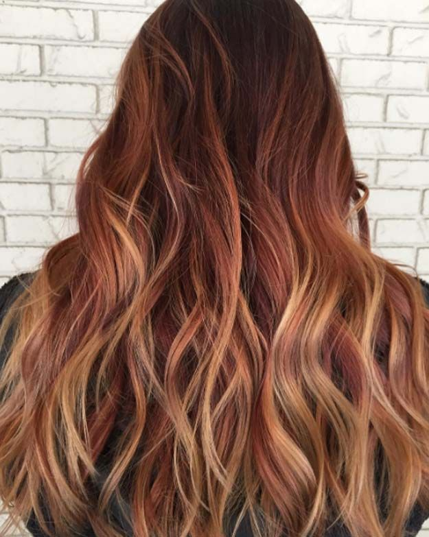 Balayage High Lights To Copy Today - Firecracker - Simple, Cute, And Easy Ideas ...