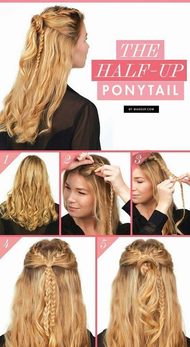 Best Hairstyles For Your 30s -The Half Up Ponytail- Hair Dos And Don'ts For Yo...