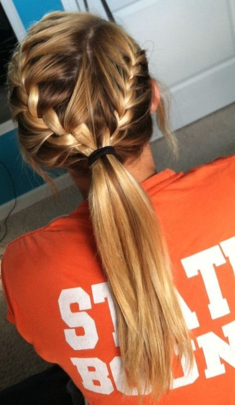 Easy Step By Step Quick Hairstyle for Back to School.  These are Super Cute and ...
