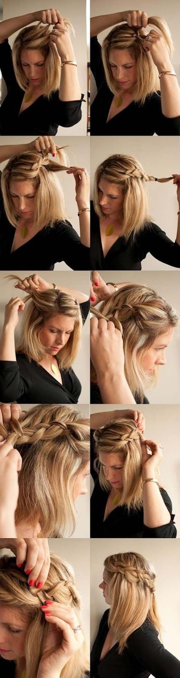 The 48 Best Medium-Length Hairstyles to Steal For Yourself - Easy Braid Hairstyl...