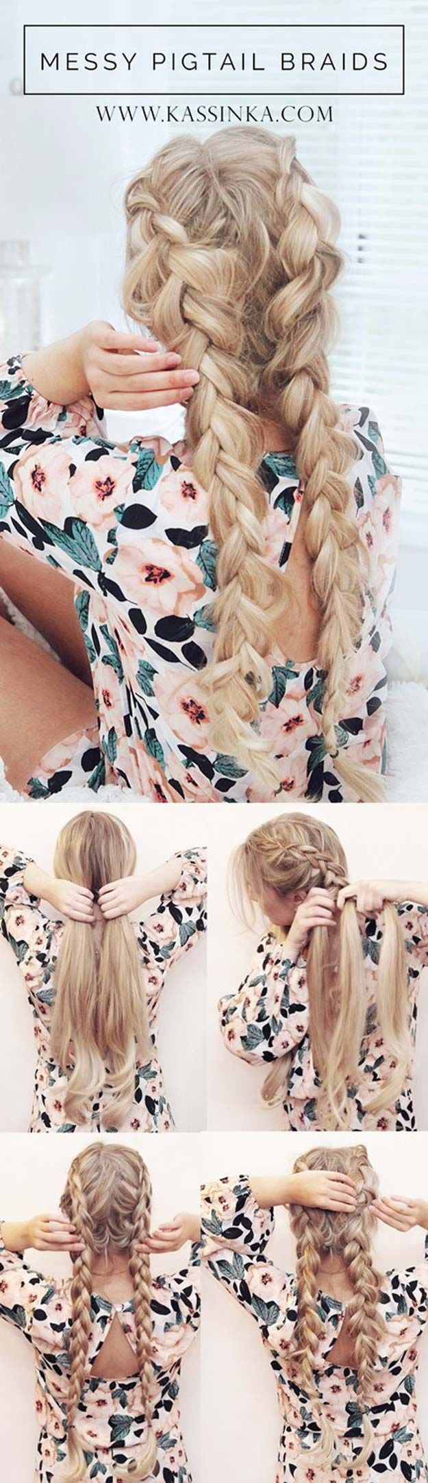 We have looked everywhere to find the best festival hair tutorials, styles and i...